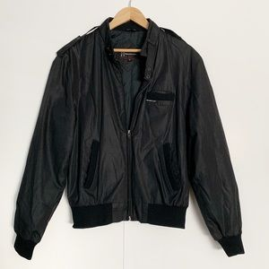 Members Only Vintage 80s&90s Iconic Black Jacket